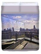 Manhattan Reflections Duvet Cover