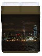 Manhattan Skyline 5 Duvet Cover