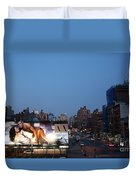 Manhattan View From The High Line Duvet Cover