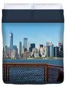 Manhatten Skyline Duvet Cover