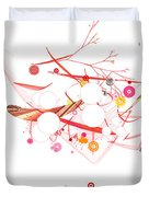 Mania Abstract Duvet Cover