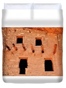 Manitou Cliff Dwellings Colorado Springs Duvet Cover