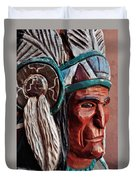 Manitou Cliff Dwellings Native American Duvet Cover