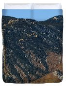 Manitou Incline Photographed From Red Rock Canyon Duvet Cover