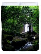 Manoa Falls Stream Duvet Cover