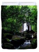 Manoa Falls Stream Duvet Cover