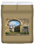 Manor House Entry Duvet Cover
