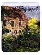 Manor House Steps Duvet Cover