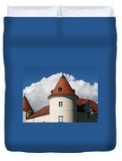 Manor House Tower Duvet Cover