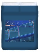 Manufacturing Abstract Duvet Cover
