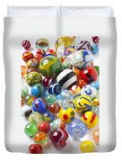 Many Beautiful Marbles Duvet Cover by Garry Gay