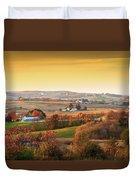 Many Farms Duvet Cover