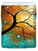 Many Moons Ago By Madart Duvet Cover