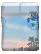 Many Moons Duvet Cover