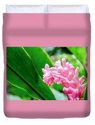 Many Pink Petals Duvet Cover
