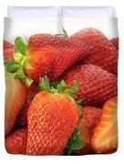 Many Strawberry Duvet Cover