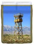 Manzanar A Blight On America 2 Duvet Cover