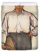 Mao Zedong Duvet Cover
