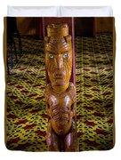 Maori Greeter Duvet Cover