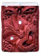 Maori Tilted Head Duvet Cover