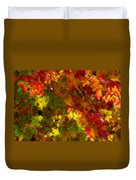 Maple Abstract Duvet Cover