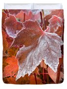 Maple Frost  Duvet Cover