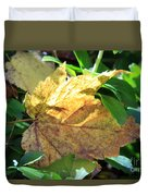 Maple Leaf Duvet Cover by Kathy DesJardins