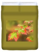 Maple Leaves Changing Duvet Cover
