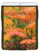 Maple Magic Duvet Cover