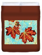 Maple Mania 13 Duvet Cover