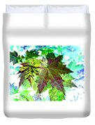 Maple Mania 24 Duvet Cover