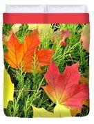 Maple Mania 5 Duvet Cover