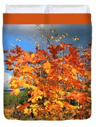 Maple Mania 8 Duvet Cover
