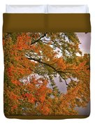 Maple Over The River Duvet Cover