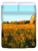 Maple Ridge Fall Barn Duvet Cover