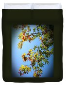 Maple Seeds In September Duvet Cover
