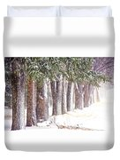 Maple Street Maples Colourized Duvet Cover