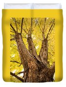 Maple Tree Portrait Duvet Cover