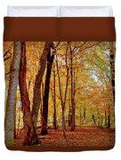 Maple Woods Trail 3 Duvet Cover