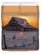 Mapleton Barn Duvet Cover by Wesley Aston