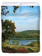 Maplewood State Park Duvet Cover