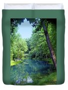 Maramec Springs 2 Duvet Cover