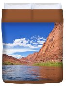 Marble Canyon Walls Duvet Cover