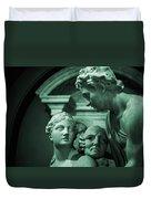 Marble Statue Catus 1 No. 2 H B Duvet Cover