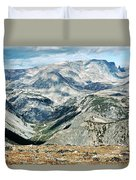 Marbled Mountains Duvet Cover