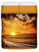 Marbled Sky Duvet Cover