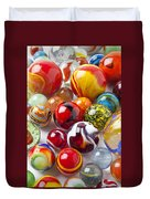 Marbles Close Up Duvet Cover