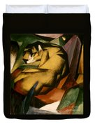 Marc: The Tiger, 1912 Duvet Cover