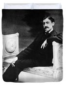 Marcel Proust, French Author Duvet Cover