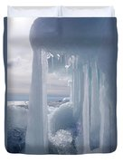 March Ice Duvet Cover